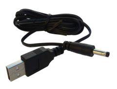 Câble d'alimentation par port USB 5V - Embout 4.0/1.7mm