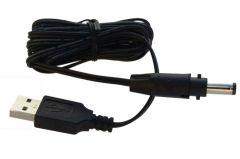 Câble d'alimentation par port USB 5V - Embout 5.5/2.5mm