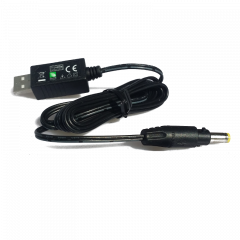 Câble d'alimentation par port USB 18v 0.35A - Embout 5.5/2.1mm
