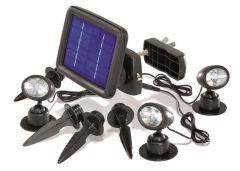 Trio spot Projecteur solaire Esotec
