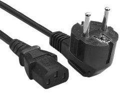 Câble alimentation électrique avec terre Schuko vers IEC320 C14