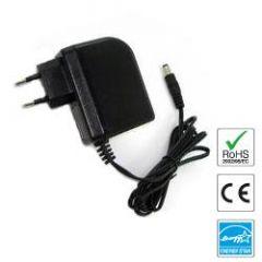 Alimentation chargeur 9V 1.2A embout 5.5/2.1mm centre négatif (Transformateur adaptateur secteur)
